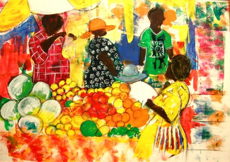 Nigel Henri 'Mum At The Market'