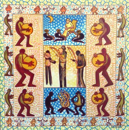 Colbert Nourrice 'Musicians'