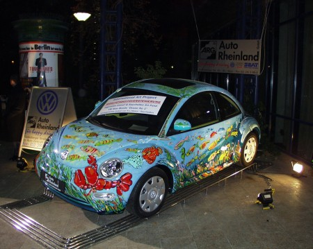 "The New Beetle at the ""Bundespresseball"" Bonn/Germany"