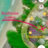 Boathouse Gallery Location