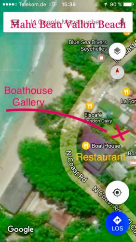 How to find Boathouse Gallery