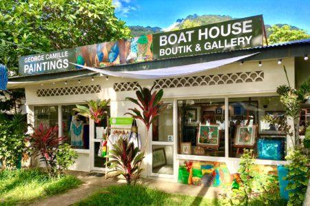 Boathouse Gallery, Beau Vallon